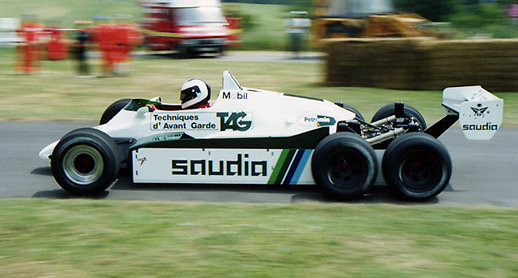 WILLIAMS FW07E FW08D
